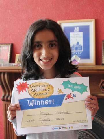 Runner up - Aliya Mahmood