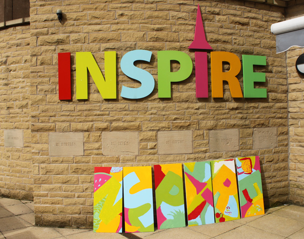 Inspire's Planters - colourful! :: August 2012